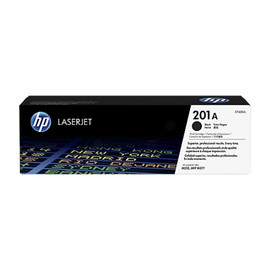 Toner 201A für Color Laserjet Pro M250/M270 1420Seiten schwarz HP CF400A Produktbild