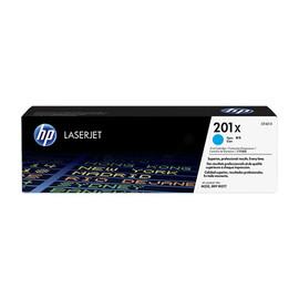 Toner 201X für Color Laserjet Pro M250/M270 2300Seiten cyan HP CF401X Produktbild