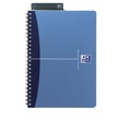 Spiralbuch Oxford Office A5 liniert Doppelspirale 90Blatt 90g Optik Paper weiß PP 100101300 Produktbild Additional View 1 S
