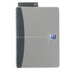 Spiralbuch Oxford Office A5 liniert Doppelspirale 90Blatt 90g Optik Paper weiß PP 100101300 Produktbild Additional View 2 S