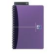 Spiralbuch Oxford Office A5 liniert Doppelspirale 90Blatt 90g Optik Paper weiß PP 100101300 Produktbild Additional View 5 S