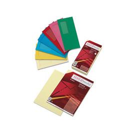 Briefumschlag mit Fenster 114x229mm mit Haftklebung 120g grün (PACK=250 STÜCK) Produktbild