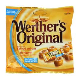 Bonbon Werthers Original 403624 zuckerfrei (BTL=70 GRAMM) Produktbild