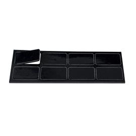 Magnet Symbole Rechteck 30x19mm schwarz Ultradex 8409-11 (PACK=8 STÜCK) Produktbild