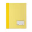 Schnellhefter Duralux transluzent mit Beschriftungsfenster und Innentasche A4 überbreit gelb Durable 2680-04 Produktbild