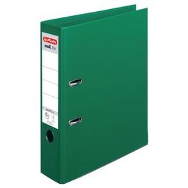 Ordner maX.file protect+ A4 80mm grün Kunststoff Herlitz 10834349 Produktbild