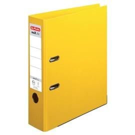 Ordner maX.file protect+ A4 80mm gelb Kunststoff Herlitz 10834356 Produktbild