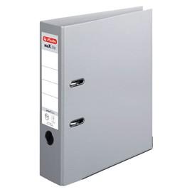 Ordner maX.file protect+ A4 80mm grau Kunststoff Herlitz 10834372 Produktbild