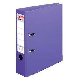 Ordner maX.file protect+ A4 80mm violett Kunststoff Herlitz 10834414 Produktbild