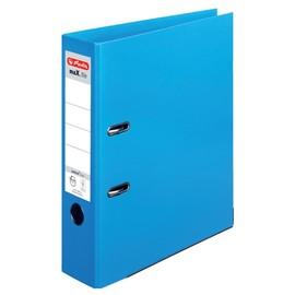 Ordner maX.file protect+ A4 80mm hellblau Kunststoff Herlitz 10834422 Produktbild