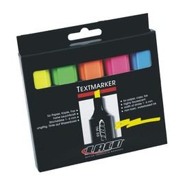 Textmarker TM50 Etui 1-6mm Keilspitze Laco 2614010000 (ETUI=5 STÜCK) Produktbild