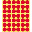 Markierungspunkte 18mm ø rot Zweckform 3374 (PACK=1056 STÜCK) Produktbild Additional View 1 S