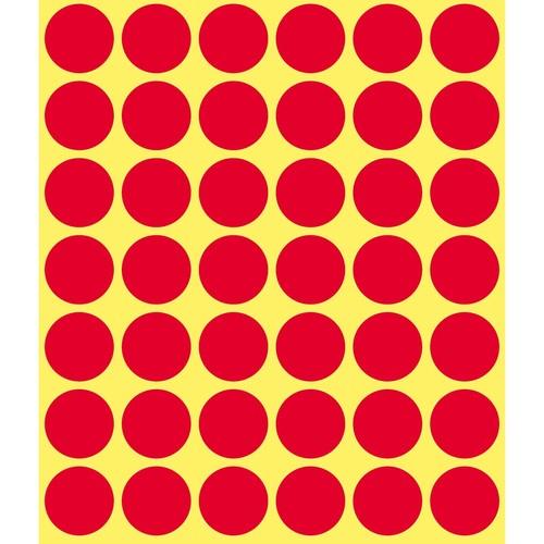 Markierungspunkte 18mm ø rot Zweckform 3374 (PACK=1056 STÜCK) Produktbild Additional View 1 L