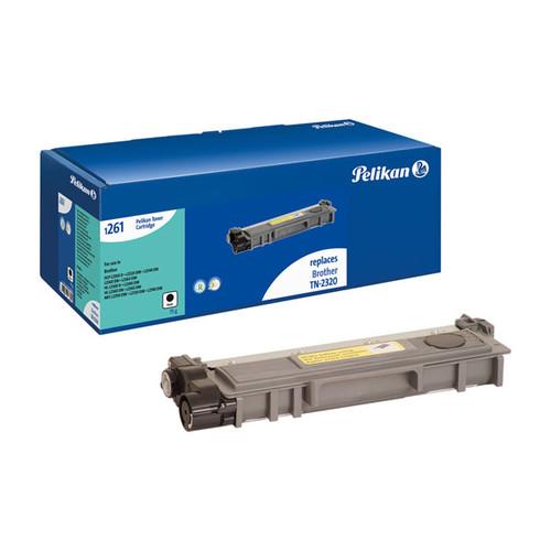 Toner Gr. 1261 (TN-2320) für DCP-L2500D/MFC-2700DW 2600Seiten schwarz Pelikan 4236791 Produktbild Front View L