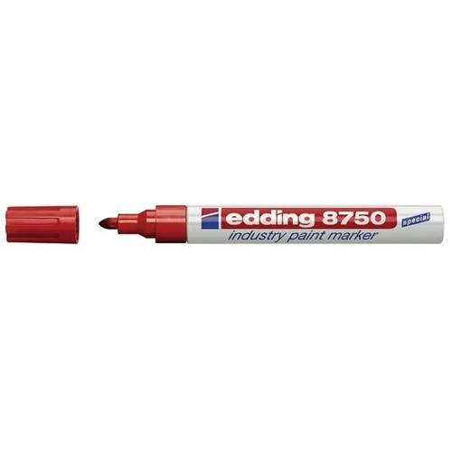 Industry Painter 8750 2-4mm Rundspitze rot Edding 4-8750002 Produktbild