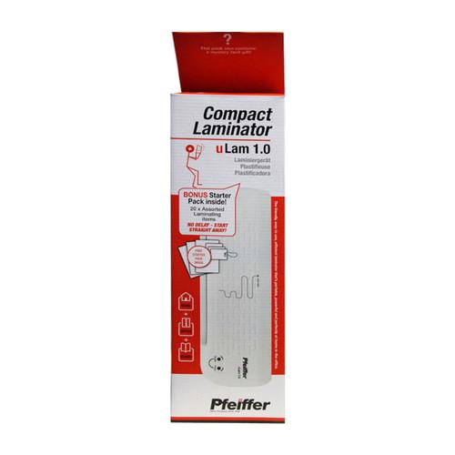 Laminiergerät bis A4 bis 80µ U-Lam 1.0 weiß Pfeiffer Produktbild Additional View 1 L
