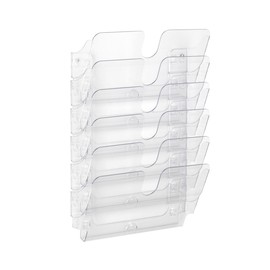 Prospektspender FLEXIPLUS 6 A4 6x 340x520mm transparent Durable 1700014401 (SET=6 STÜCK) Produktbild