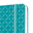 Notizbuch Jolie liniert 95x150x16mm 174 Seiten aqua green Hardcover Sigel JN102 Produktbild Additional View 2 S