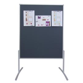 Moderationswand PRO Standard 120x150mm grau filzbespannt Franken MT800312 Produktbild
