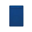 Klemmbrett go uni Klemme kurze Seite A4 blau Kunststoff Maul 23251-37 Produktbild