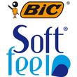 Kugelschreiber Soft Feel Clic Grip 0,4mm blau Bic 8373982 Produktbild Additional View 6 S