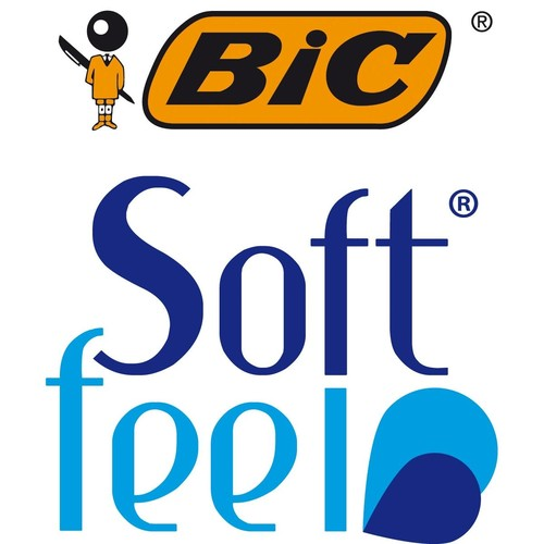 Kugelschreiber Soft Feel Clic Grip 0,4mm blau Bic 8373982 Produktbild Additional View 6 L