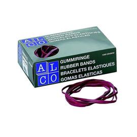 Gummibänder 130x10mm rot ALCO 761-12 (KTN=1000 GRAMM) Produktbild