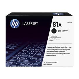 Toner 81A für HP Laserjet Enterprise 600 10500 Seiten schwarz HP CF281A Produktbild