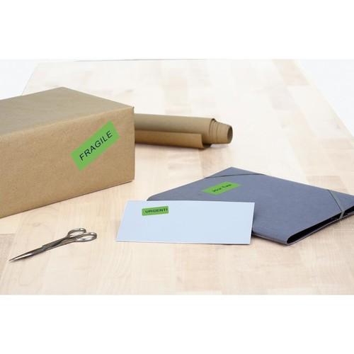 Etiketten Ink Jet+Laser+Kopier 105x37mm auf A4 Bögen grün permanent Herma 4259 (PACK=1600 STÜCK) Produktbild Additional View 3 L