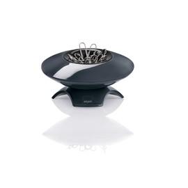 Klammernspender eyestyle 95x55x95mm dunkelgrau/schwarz magnetisch Kunststoff-Acryl Sigel SA161 Produktbild