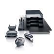 Haftnotizbox eyestyle mit Stiftehalter + Haftnotizen dunkelgrau/schwarz Kunststoff-Acryl Sigel SA162 Produktbild Additional View 4 S