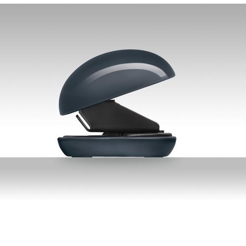 Locher eyestyle dunkelgrau/schwarz Kunststoff-Acryl Kombination Sigel SA163 Produktbild Additional View 1 L