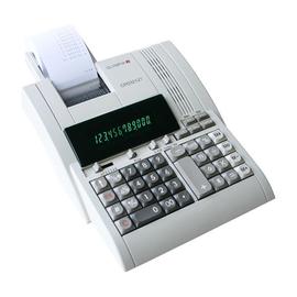 Tischrechner 12-stelliges Display 214x254x70mm schwarzer Thermodruck Netzbetrieb Olympia CPD-3212 T Produktbild