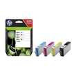 Tintenpatrone 364XL Multipack für HP DeskJet 3070 1x 18ml schwarz + je 1x 6ml cyan/magenta/yellow HP N9J74AE (PACK=4 STÜCK) Produktbild