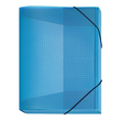 Sammelbox Velocolor A4 mit Gummizug 250x330x30mm hellblau PP Veloflex 4443751 Produktbild Additional View 1 S