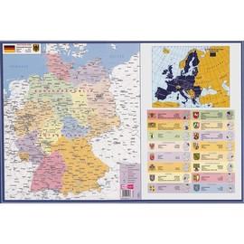 Schreibunterlage Deutschland 40x60cm Veloflex 4674000 Produktbild