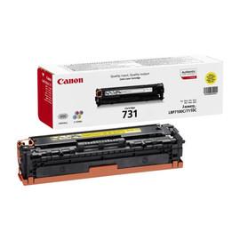 Toner 731Y für LBP-7100/MP-620 1500 Seiten yellow Canon 6269B002 Produktbild