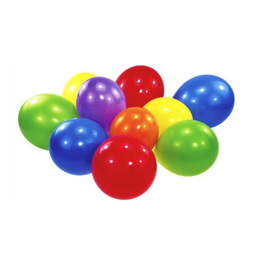 Luftballons Party sortiert B55 Latex Amscan INT996614 (PACK=100 STÜCK) Produktbild Front View L