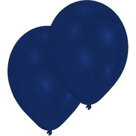 Luftballons Standard B90 ø27,5cm royal blau Latex Amscan INT995435 (PACK=10 STÜCK) Produktbild