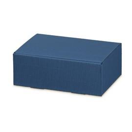 Klappschachtel blau Modern Galerie 220 x 150 x 75mm Famulus 902021 Produktbild