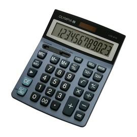 Taschenrechner 12-stelliges LC-Display 206x147x43mm Solar-/Batteriebetrieb Olympia LCD-6112 Produktbild