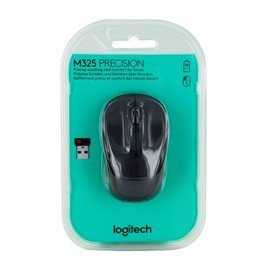Wireless Optical Mouse M325 3 Tasten dunkelgrau Logitech 910-002142 Produktbild