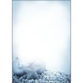 Weihnachts-Motiv-Papier A4 90g Blue Mystery Sigel DP081 (PACK=100 BLATT) Produktbild