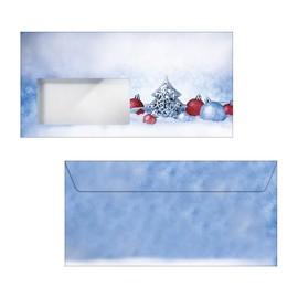Weihnachts-Briefumschläge DIN lang 90g Christmas Moments gummiert Sigel DU086 (PACK=25 STÜCK) Produktbild