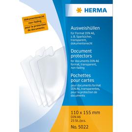 Ausweishülle 110x155mm transparent Herma 5022 Produktbild