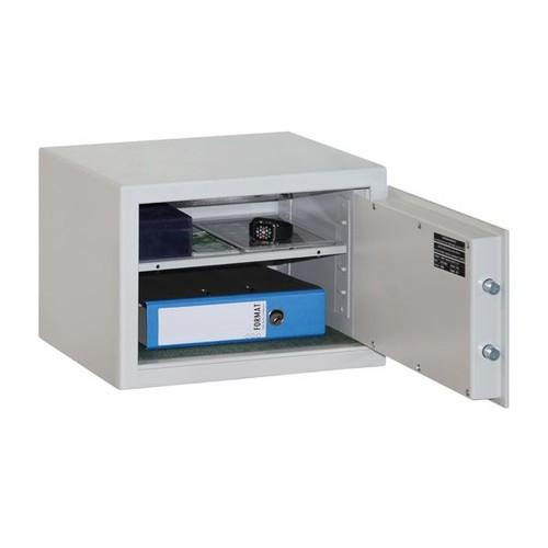 Möbeleinsatztresor MB 3A 33,4x47,1x40cm lichtgrau RAL7035 Format 002215-00000 Produktbild