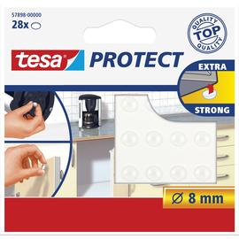 Lärmstopper ø 8mm transparent Tesa 57898-00000-01 (PACK=28 STÜCK) Produktbild