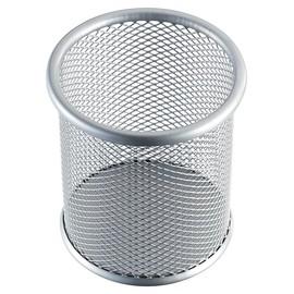 Stifteköcher Mesh Durchmesser 90mm/H 100mm silber Stahl Helit H2518100 Produktbild