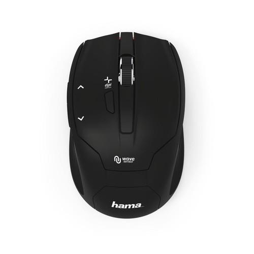 Optical Mouse Milano schwarz Hama 00182639 Produktbild