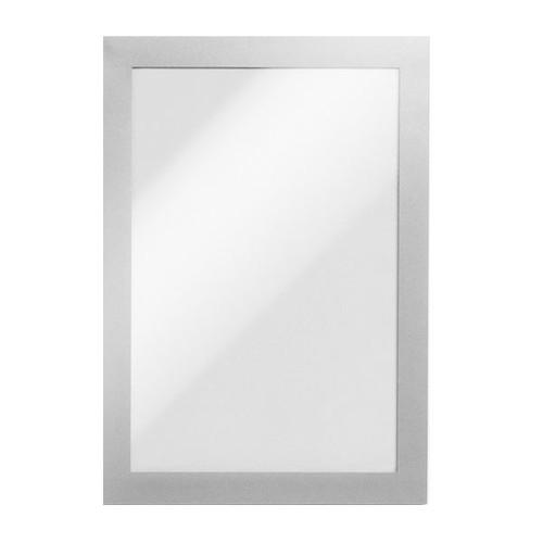 Magnetrahmen A5 transparent/silber magnetisch Durable 4947-23 (PACK=5 STÜCK) Produktbild Front View L